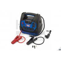 Автономно стартерно устройство 3 в 1 с компресор и лед фенер HBM 9678 /230 V, 12 V, 1250A/