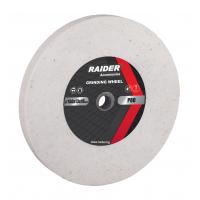 Диск за шмиргел Raider ø200 x 20 x ø16 mm бял Р60