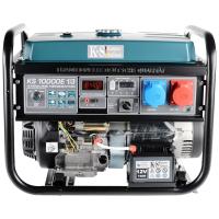 Монофазен/трифазен бензинов генератор с ел. старт , AVR 8.0 / 7.5 kW Könner & Söhnen KS 10000E 1/3 VTS