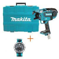 Акумулаторна машина за връзване на арматура 14.4-18 V, ф13 мм Makita DTR180ZK без батерия и зарядно
