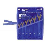 Комплект ключове звездогаечни СИБРТЕХ фосфатирани, 12 бр, 6-22 мм