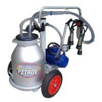 Еднопостов доилен агрегат Grillo Petrov, 30 литра гюм