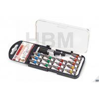 Комплект битове 25 mm + магнитен държач HBM 9274, 15 части