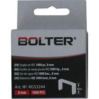 Скоби за такер Bolter XG53245, 10 mm, 1000 бр.