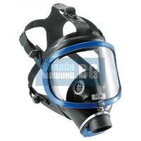 Цяла маска - Панорамна - Draeger / Дрегер X-Plore 6300 + Прахов филтър 680 P3 / най-висока степен на защита ; бактериална защита /