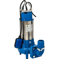 Помпа за фекални води с нож Hydrostab CUT1100, 1.1 kW, 18 m³/h + поплавък