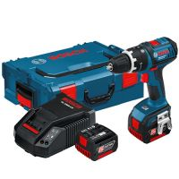 Акумулаторен винтоверт Bosch GSR 14,4 V-Li /куфар L-Boxx, 2 батерии 4.0 Ah/