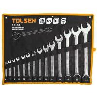 Комплект звездогаечни ключове TOLSEN, CrV, 6-32 мм, 14 бр