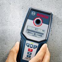Детектор за напрежение Bosch GMS 120 /до 120 мм. дълбочина/