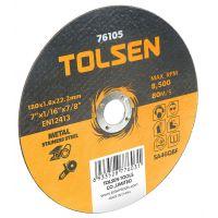 Диск за метал Tolsen INOX, 125x1.2x22.2 мм