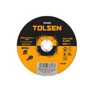 Диск за шлайфане на метал Tolsen, 125 х 6.0 х 22.2 мм
