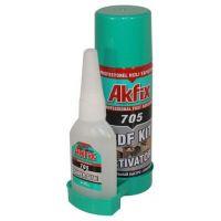Универсално лепило AKFIX 705, 65 гр.+ 200 мл
