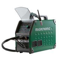 Заваръчен апарат Migatronic PI 200 A PULS AC / DC PFC, в комплект с маса, кабел и бренер TIG Ergo 201 4M