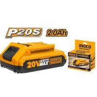 Литиево-йонна батерия INGCO FBLI2001E, 20 V, 2.0 Ah