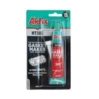 Термоустойчив силикон AKFIX HT300, блистер, 50 гр, черен