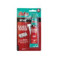Термоустойчив силикон AKFIX HT300, блистер 50 гр, червен