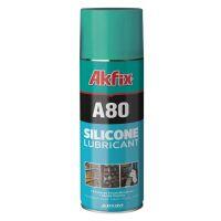 Силиконов спрей за смазване и защита AKFIX A80, 400 мл