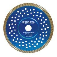 Диамантен диск за сухо рязане RODEX, Turbo, ULTRASLIM, 115 мм