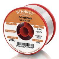 Тинол на ролка Stannol HS10, 2 мм, 250 г