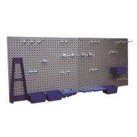 Перфорирана стена за инструменти OMS, 557x455 мм, 34 части