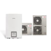 Термопомпа Bosch Compress 3000 AWS, 12 kW, 400 V, сплит система, с електрически нагревател