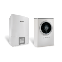 Термопомпа Bosch Compress 6000 AW-5, 5 kW, 230 V, моноблок, хибрид
