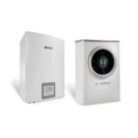 Термопомпа Bosch Compress 6000 AW-17, 17 kW, 400 V, моноблок, хибрид