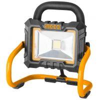 Акумулаторен работен прожектор INGCO CWLI2002, 20 W, 20 V, без батерия и зарядно