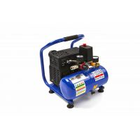 Преносим електрически компресор HBM 7669, 550 W, 10 бара, 4 л, ниски нива на шум