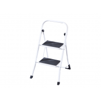 Домакинска метална стълба PSDS, 46.5х20.5х90 см, 2 стъпала