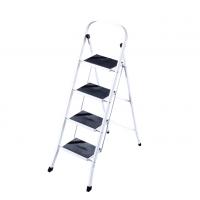 Домакинска метална стълба PSDS, 47х30х128 см, 4 стъпала