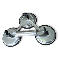 Тройна алуминева вендуза за плоскости Edma, ф 120 мм, 140 кг