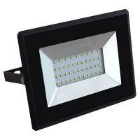 Прожектор V-TAC VT-4031, LED, 30 W, 6500 K, 2550 lm, черен