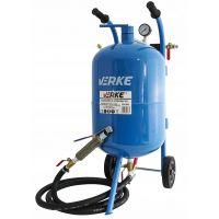 Мобилен пясъкоструен апарат VERKE V81081, 38 л, 4,5-8 бара