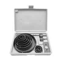 Комплект боркорони за дърво Premium, 19-127 мм, 16 части
