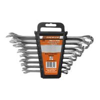 Комплект завездогаечни ключове Premium, 9-19 мм, 8 бр