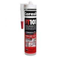 Универсално полиуретаново лепило Henkel Ceresit FT101, сиво, 300 мл