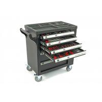 Професионална количка с инструменти HBM 9406, 78х48х105 см, 154 бр