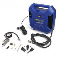 Монофазен мини компресор за въздух Michelin MB1 230/50, 160 л / мин, 1100 W, 8 бара, с комплект принадлежности