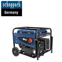 Трифазен бензинов генератор за ток Scheppach SG7100, 230 / 400 V, 5500 W