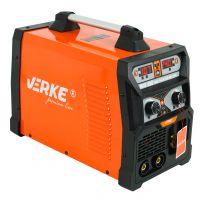 Комбиниран инверторен телоподаващ заваръчен апарат VERKE V75014, 7.1kVA, 10-200A, MIG, MMA, TIG MIG-200