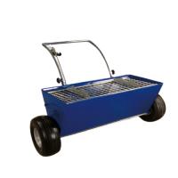 Топинг количка Bisonte, до 150 кг, за полагане на подови настилки