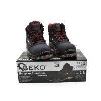 Работни обувки Geko G90545-43, модел 9, S3, SRC, набук, 43-ри номер