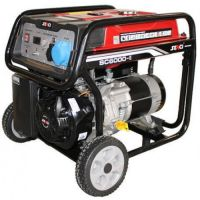 Бензинов монофазен генератор SENCI SC-6000 TOP, 5.5 kW, 25 л