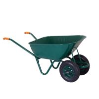Ръчна количка с двойно плътно колело Premium, 120 л, 250 кг