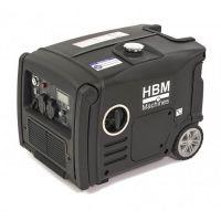 Инверторен бензинов генератор HBM HY3200i 10040, 3200 W, 4-тактов, 7.4 л, 3 изхода