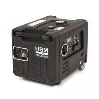 Инверторен бензинов генератор HBM HY4000i 10041, 4000 W, 4-тактов OHV, 9 л, 3 изхода, с дистанционно управление