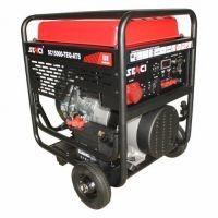 Бензинов трифазен генератор SENCI SC-15000TE EVO, 13 kW, 45 л, ел. стартер
