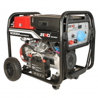 Бензинов заваръчен генератор SENCI SC-200A, 5.5 kW, 18 л, 230 V, 50-200 А, ел. стартер
