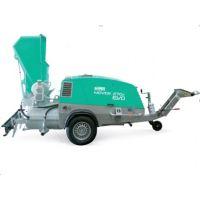 Машина за замазка Imer Mover 270 EVO DB, дизелов двигателYanmar, 47 к.с, с бункер